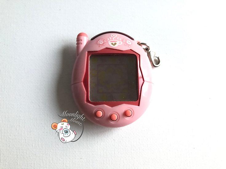 Tamagotchi Keitai Akai Pink Coffee Time Bandai Japan 2004