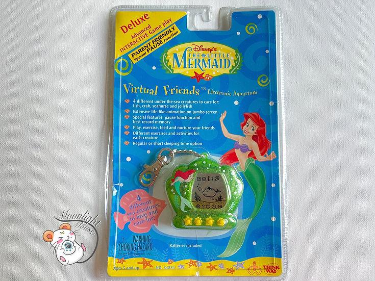 Disney Little Mermaid Transparent Green Glitter Tamagotchi Virtual Pet 1998
