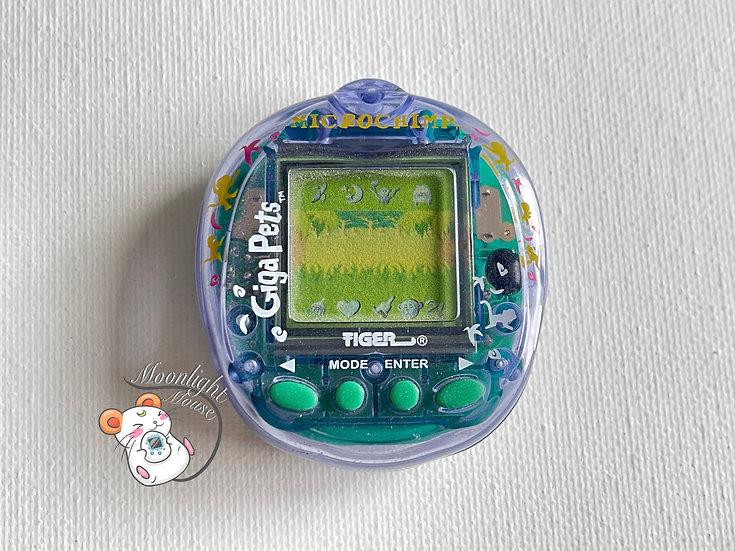 Giga Pets Mirco Chimp Tiger Tamagotchi Virtual Pet 1997