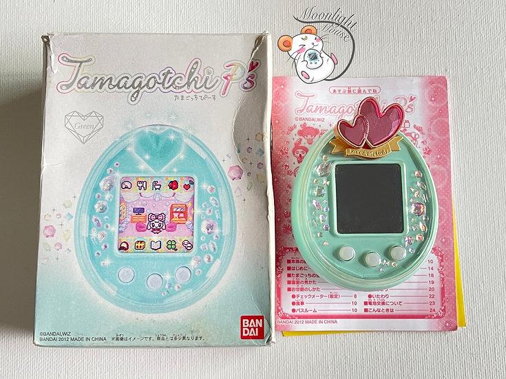 RESERVED: Tamagotchi P's English Green Love Melody Bandai Japan 2012