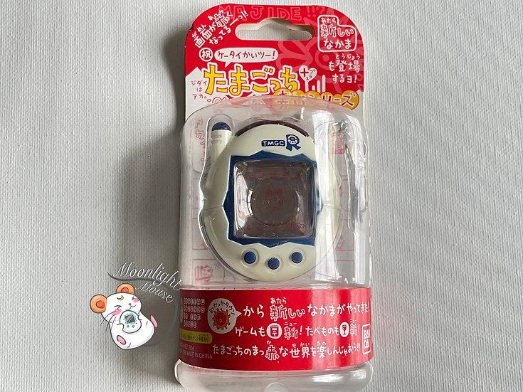 Tamagotchi Connection v3 Keitai Akai TMGC White Blue Bandai Japan 2004
