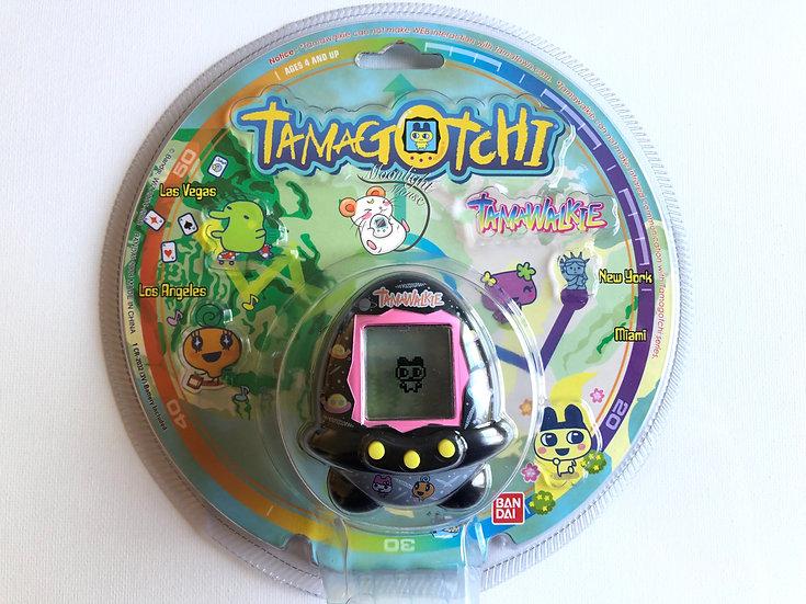 Tamagotchi Tamawalkie English Black Space Pedometer Asia Bandai Shell 2008