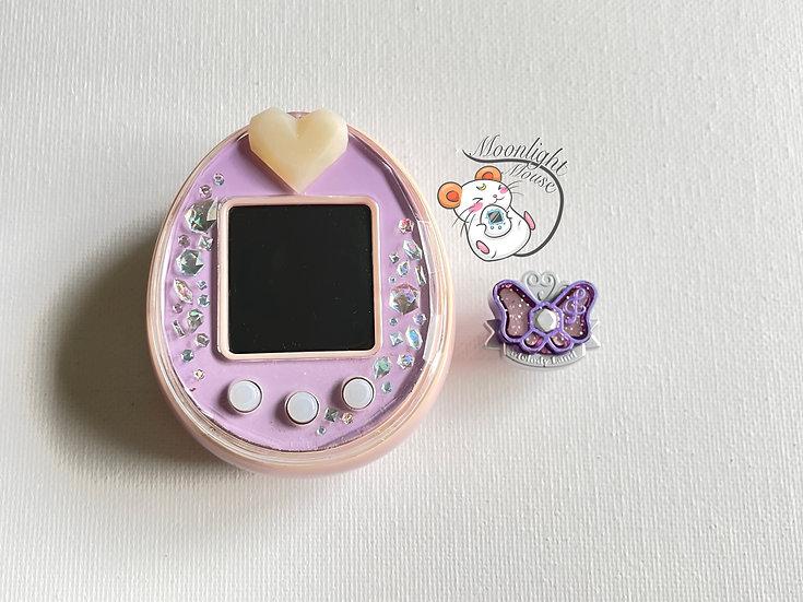 Tamagotchi P's English Pink Purple Melody Land Bandai Japan 2012