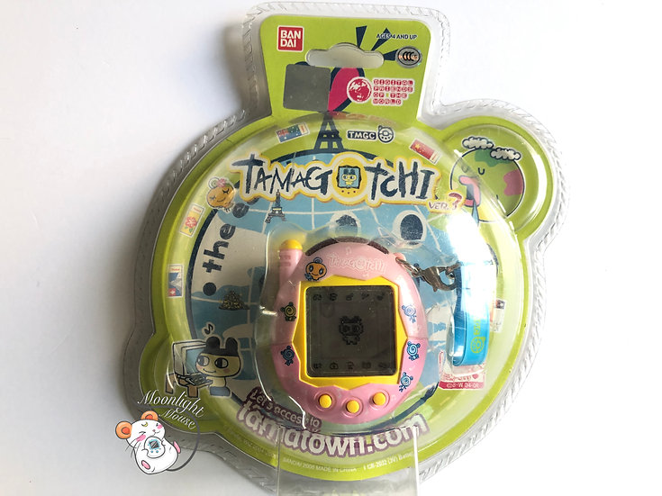 Tamagotchi Connection v3 Memetchi Doll English Asia 2005