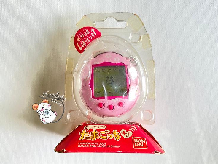 Tamagotchi Connection V1 Plus Pink Flowers Matte Bandai Japan 2004