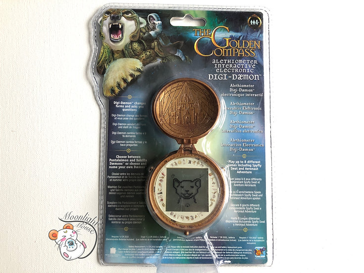The Golden Compass Alethiometer Digi-Daemon Tamagotchi Virtual Giga Pet