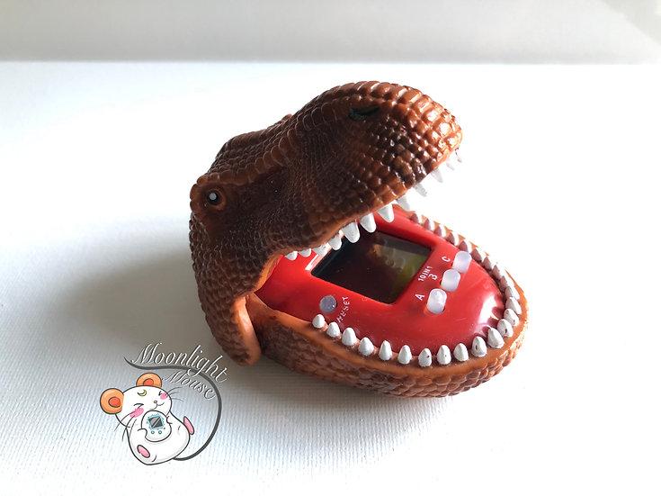 Tamagotchi English Orange Dinosaur Virtual Giga Pet Kyouryu TRex 1997