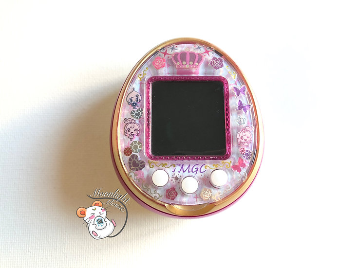 Tamagotchi 4U Pink English Menu Bandai Japan 2014