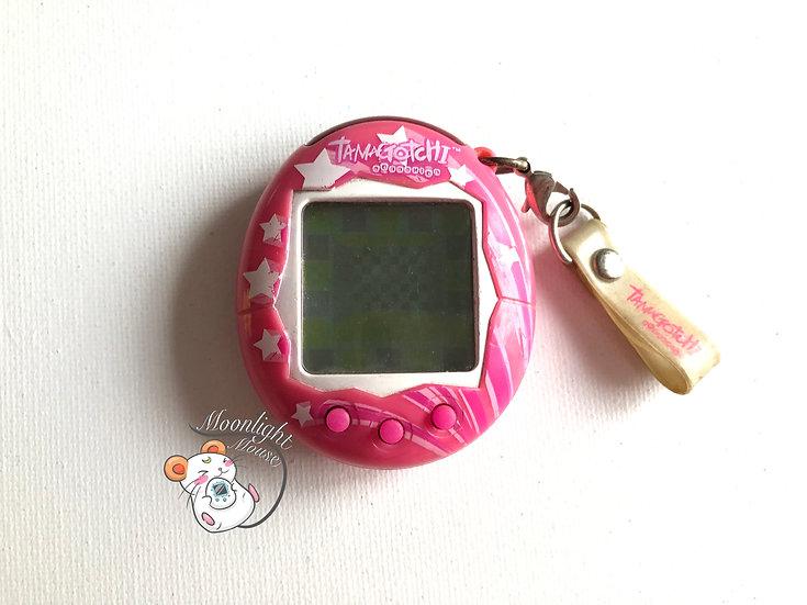 Tamagotchi Connection v2 English Pink Stars Australia Shell 2005