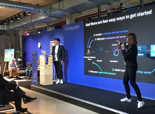 ETA+ auf dem IBM Cloud, Data & AI Summit 2019