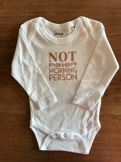 Body Morning Person