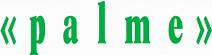 Mitarbeit Stiftung zur Palme