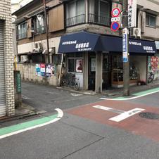 ⑥和菓子屋さんのわき道を進みます