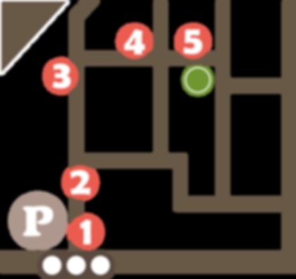 二子玉川鍼灸院 多摩堤通り側駐車場からのルート地図