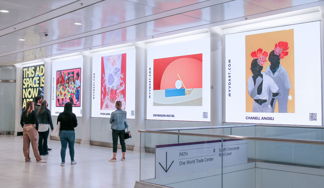 Chanell Angeli Artwork Displayed at World Trade Center