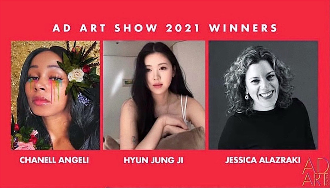 Chanell Angeli Ad Art Show Winner