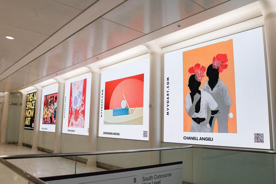 Art Work Displayed At World Trade Center in NYC