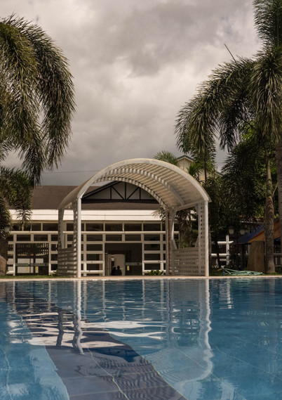 Pool and Arch