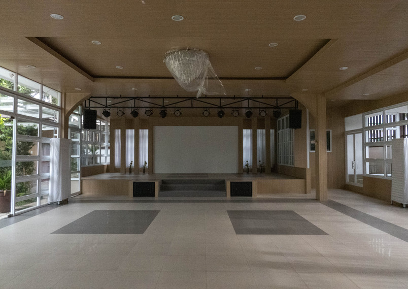 Indoor Stage with Sound System and Projector System