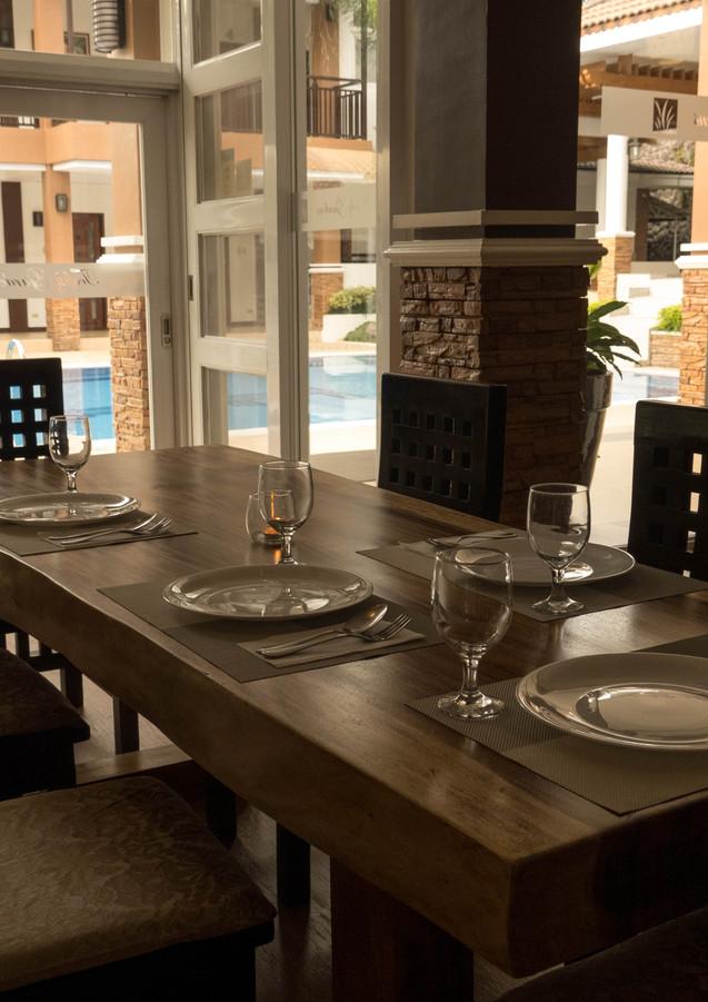 Dining Table Near Bar