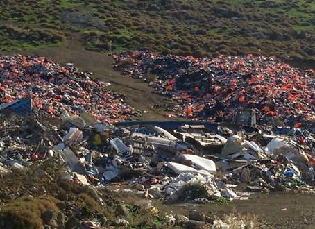 Paz EnConstrucción en Lesvos, Grecia.