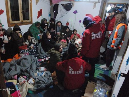 Más de 60 refugiados llegaron a la isla de Chios el 1 de enero, así comenzó el 2018.