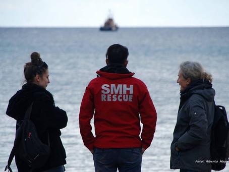 Paz En Construcción en Chios, Grecia, con Salvamento Marítimo Humanitario.