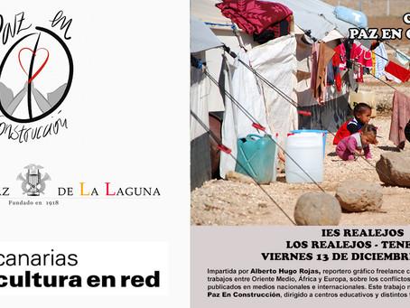 Final de ruta de Paz En Construcción con el Orfeón La Paz de La Laguna en el IES Realejos.