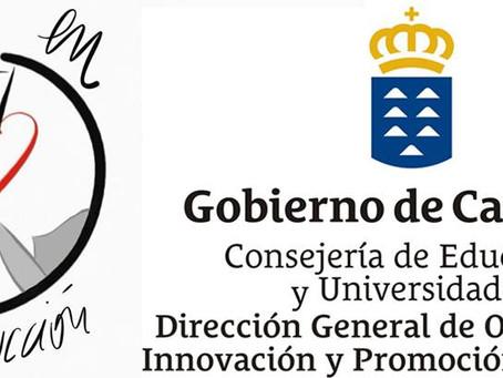 """Convocatoria Del Proyecto """"Paz En Construcción"""" Curso 2018/19 De La Consejería De Educación Canarias"""