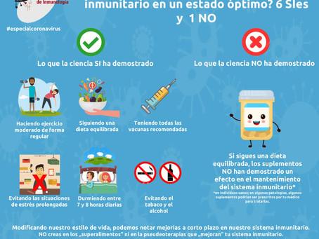 ¿Cómo Puedes Mantener Tu Sistema Inmunitario En Un Estado Óptimo? 6 Sïes y 1 NO