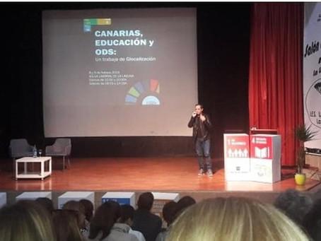 Paz En Construcción En Canarias, Educación Y ODS: Un trabajo de Glocalización