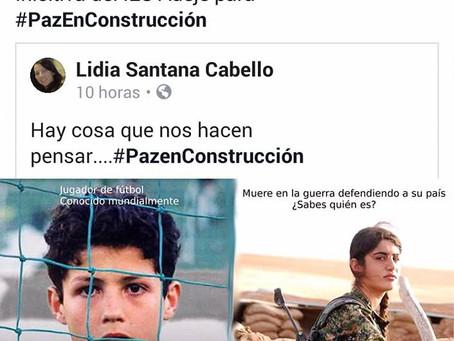 Esto te dará qué pensar. #PazEnConstrucción.