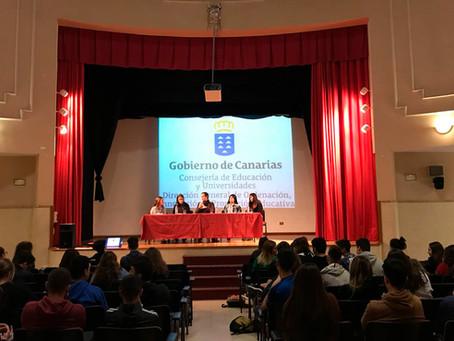 """5º Ruta Del Proyecto Educativo """"Paz En Construcción"""" Con La Consejería de Educación En Canarias."""