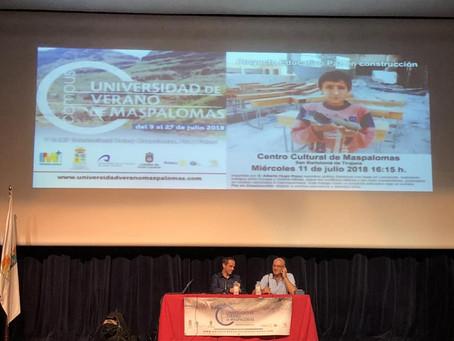 Taller: Proyecto Educativo Paz En Construcción. Universidad de Verano de Maspalomas y V Camp Inter.