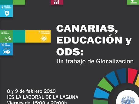 Paz En Construcción Participara En Canarias, Educación Y ODS: Un trabajo de Glocalización