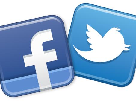 Perfiles en las redes sociales de Paz En Construcción.
