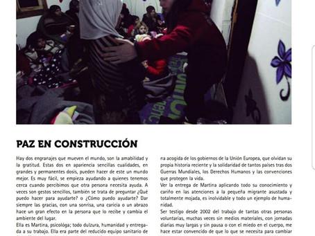 PAZ EN CONSTRUCCIÓN. NU2 Revista Mar y Arte.
