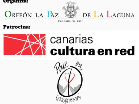 Ruta de Paz En Construccion con el Orfeón La Paz de La Laguna y el apoyo de Canarias Cultura En Red.