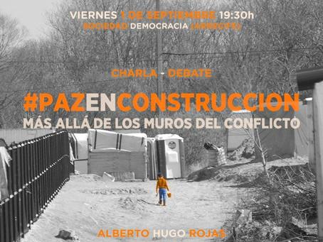 Paz En Construcción charla - debate en Lanzarote.