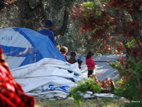 """Sigo sin entender cómo en Europa, hay campos de refugiados con """"estándares"""" de países en guerra."""