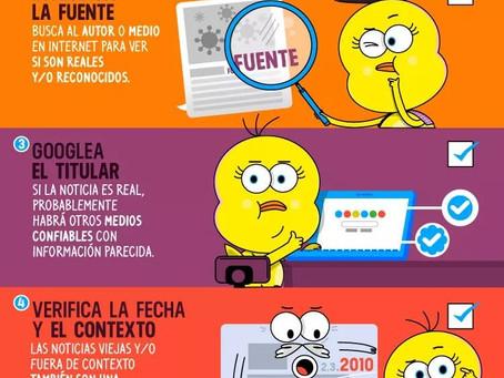 Guía Básica Para Identificar Noticias Falsas Y Evitar Compartirlas.