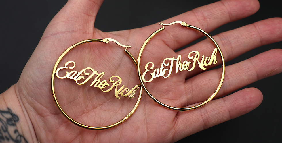 Eat the Rich Hoops