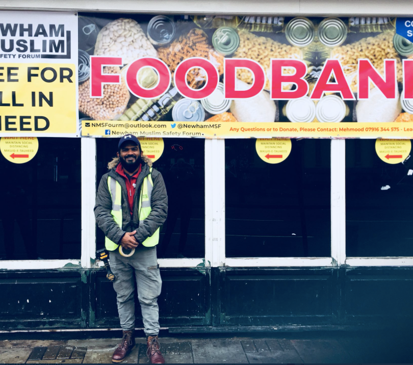 Muslim Safety Forum Foodbank, Newham