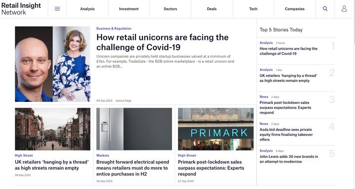 TradeGala - Retail Insight Network - How