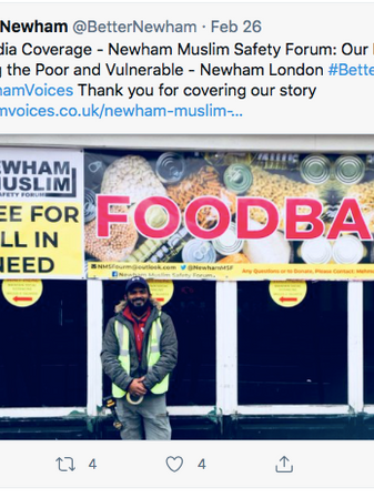 BN Media Coverage -  Newham Muslim Safety Forum