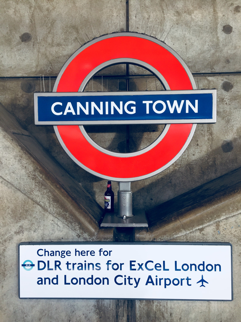 Canning Town Station, Canning Town