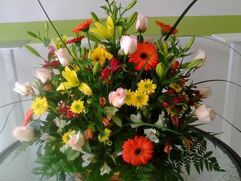 Wild flowers arranment