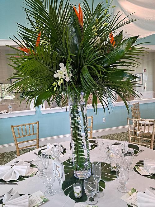 Tropical Wedding Flower Arrangement