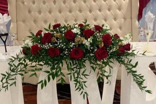 Wedding Flower Arrangement 3 feet