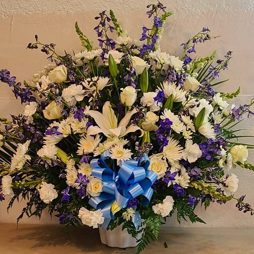 Chruch Flower arrangement